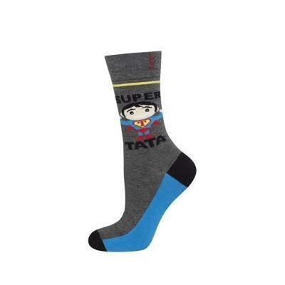 "SOXO socks ""super tata"" (polish text)"