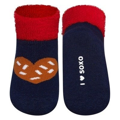 SOXO socks terry - Gingerbread
