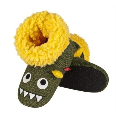 Slippers SOXO high green