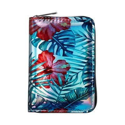"Wallet ""Back to school"" SOXO - tropical flowers"