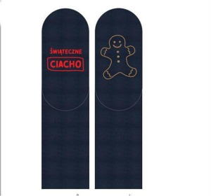"SOXO Men's socks with text ""... ciacho"""