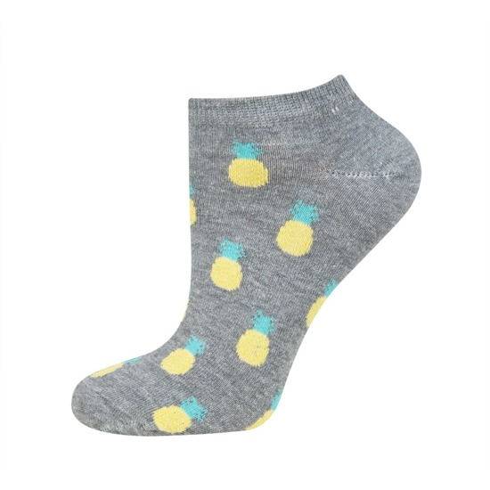 SOXO sneaker socks with pattern