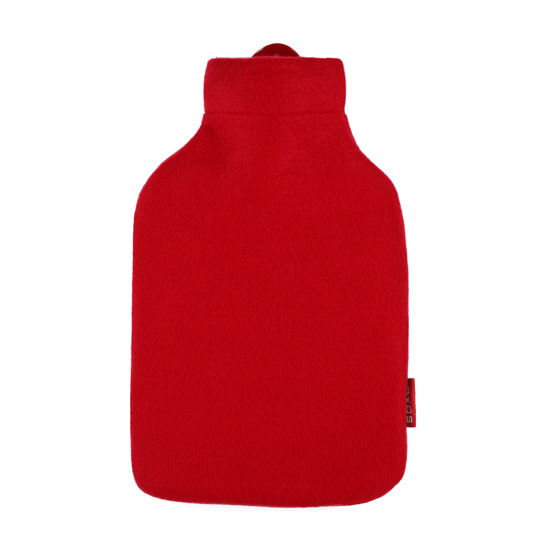 SOXO terry hot water bottle
