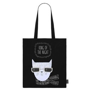 Cotton / black bag KING OF THE NIGHT