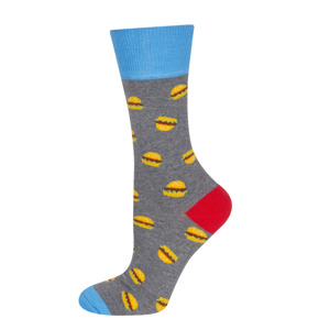 "GOOD STUFF Men's socks ""hamburgers"""