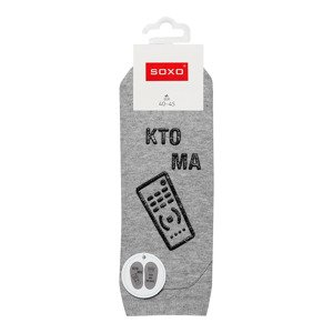 "Mens footies SOXO life instructions ""Kto ma pilota..."""