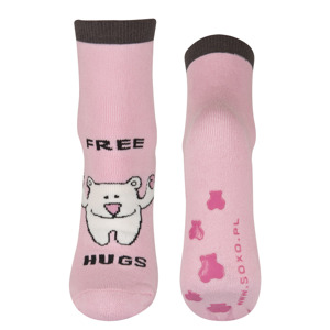SOXO Adult socks with funny text (ENG)
