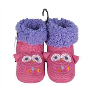 SOXO Girl's knitted slippers