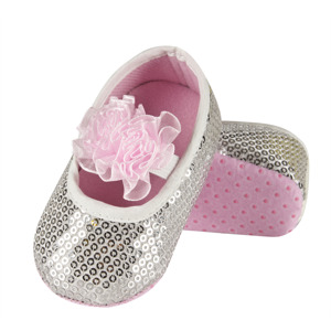 SOXO Infant ballerina slippers with abs