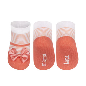 SOXO Infant ballerina socks MOM DAD  (polish text)