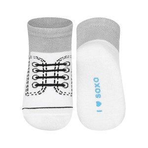SOXO Infant sneakers socks with laces
