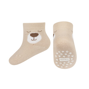 SOXO Infant socks with faces with ABS