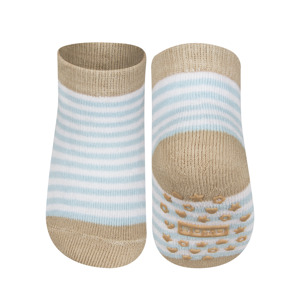 SOXO Infant striped socks with ABS