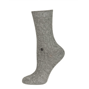 SOXO Women's socks with  silver thread