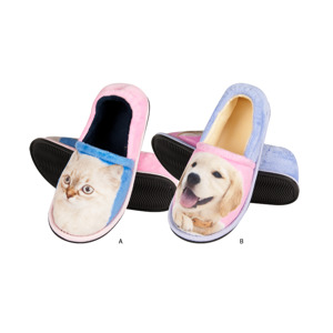 SOXO animal photo slippers