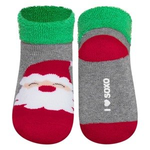 SOXO socks terry - Santa Claus
