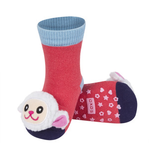 SOXO socks with rattle