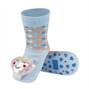 SOXO socks with rattle with ABS PREMIUM