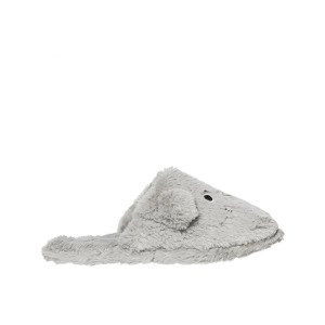 Slippers SOXO mouses- grey with hard soles