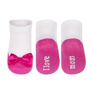 Socks SOXO ballerinas I love Mom I love Daddy