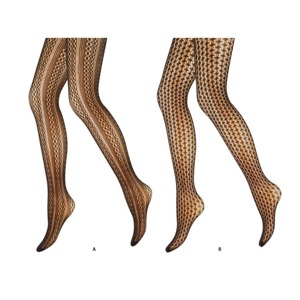 Women's tights FASHION SOXO - openwork patterns