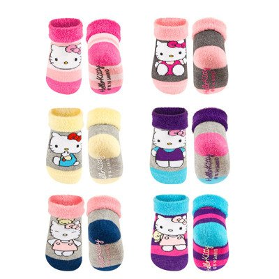 HELLO KITTY Baby Frotte Socken mit ABS