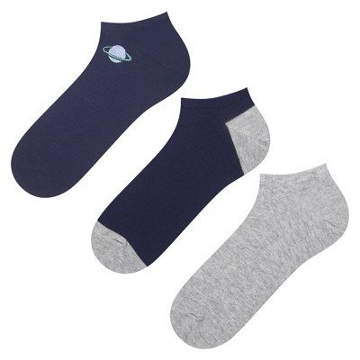 Herren footies SOXO BASIC - Kosmos - 3 Paare