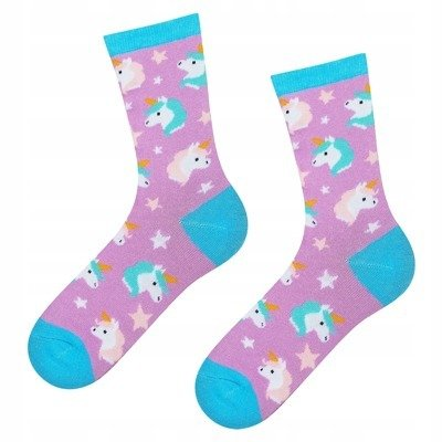 "SOXO GOOD STUFF Kindersocken - ""Einhorn"""