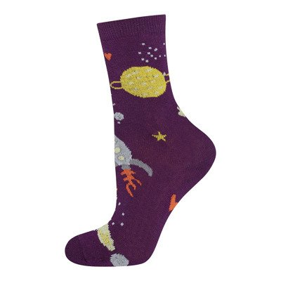 SOXO GOOD STUFF Kindersocken - Herz Kosmos